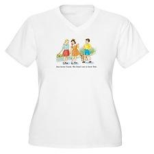 jane knows connie.jpg Plus Size T-Shirt