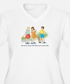 jane knows connie.jpg Plus Size T-Shirt