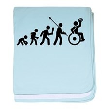 Wheelchair Rugby baby blanket