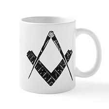 Rustic Square and Compasses Mug