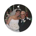 Jane and Dad Ornament (Round)