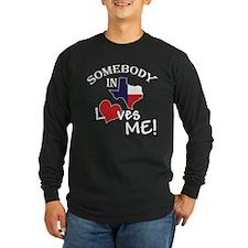 Somebody loves_black Long Sleeve T-Shirt