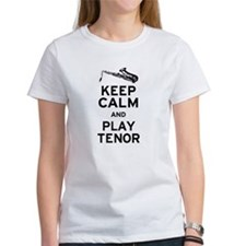 Keep Calm Play Tenor Tee
