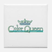 Color Queen Tile Coaster