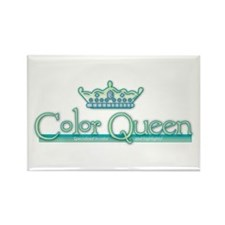 Color Queen Rectangle Magnet