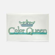 Color Queen Rectangle Magnet