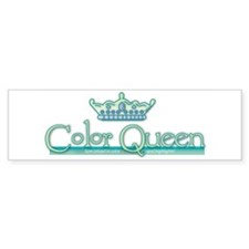 Color Queen Bumper Car Sticker