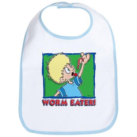 Worm Eater! Bib