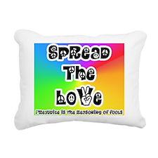Spread the Love Rectangular Canvas Pillow