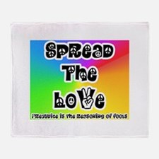 Spread the Love Throw Blanket
