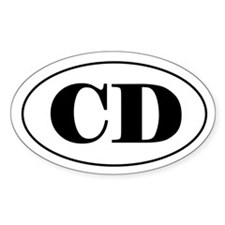 CD Title Decal