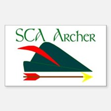 Archer Rectangle Decal