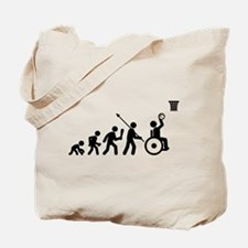 Wheelchair Basketball Tote Bag