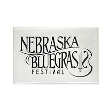 Nebraska Bluegrass Rectangle Magnet