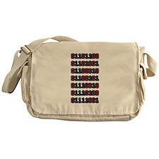 Liberty in Binary Messenger Bag