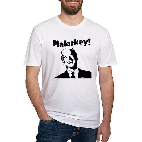 Malarkey: Fitted T-Shirt