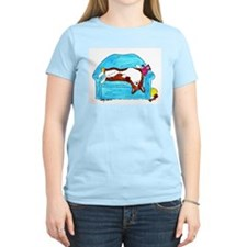 Corgi taking it easy T-Shirt