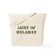 Army of Helaman (camo) Tote Bag