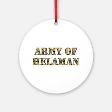 Army of Helaman (camo) Ornament (Round)