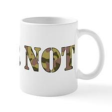 Fear Not (camo) Mug