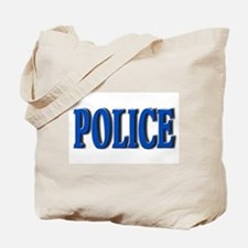 """""""Occupations Police White"""" Tote Bag"""