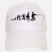 Tug Of War Baseball Baseball Cap