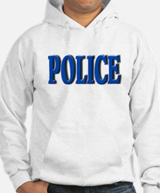 """Occupations Police White"" Hoodie"