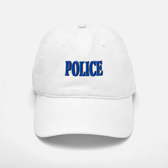 """Occupations Police White"" Baseball Baseball Cap"