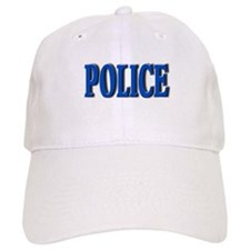 """""""Occupations Police White"""" Baseball Cap"""