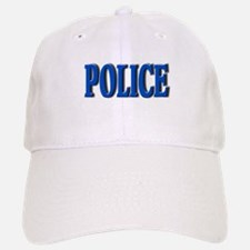 """""""Occupations Police White"""" Cap"""
