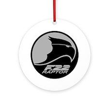 F-22 Raptor Ornament (Round)