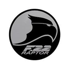 "F-22 Raptor 3.5"" Button (100 pack)"