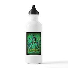 green shiva Water Bottle