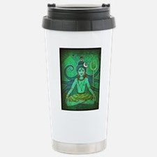 green shiva Travel Mug
