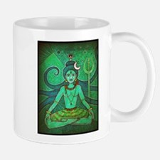green shiva Small Small Mug