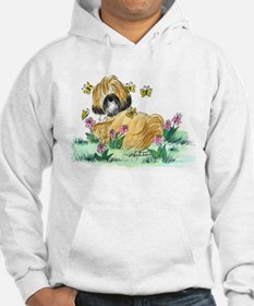 Lhasa Apso surrounded Hoodie
