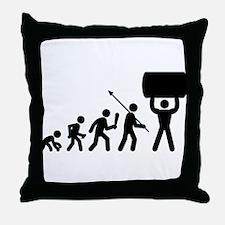 Strong Man Throw Pillow