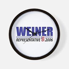 Weiner 2006 Wall Clock