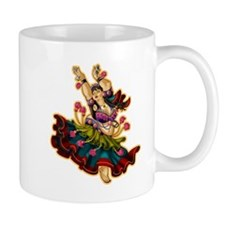 Big-n-Beautiful Tribal Bellydancer! Beige Mug