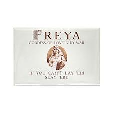 Freya Love and War Rectangle Magnet