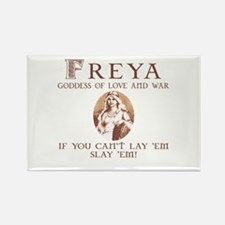 Freya Love and War Rectangle Magnet