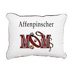 affenpinscher mom.png Rectangular Canvas Pillow
