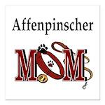 "affenpinscher mom.png Square Car Magnet 3"" x"
