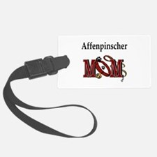 affenpinscher mom.png Luggage Tag