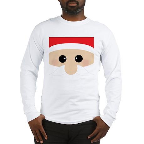 Santas Closeup Funny Long Sleeve T-Shirt