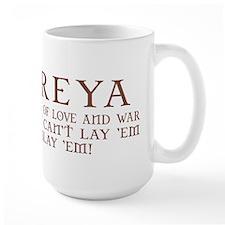 Freya Love and War Ceramic Mugs