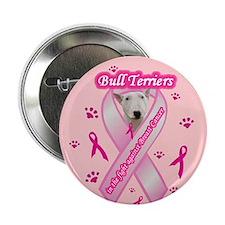 """Bull Terrier (White) 2.25"""" Button (10 pack)"""