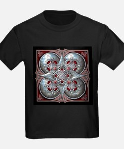 Silver & Red Celtic Tapestry T