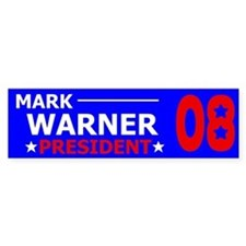 (Dropped Out) Elect Mark Warner Bumper Bumper Sticker