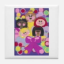 Princesses Tile Coaster